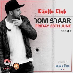 Djscyprus pres. Tom Staar sponsored by Grey Goose - Friday 28th June