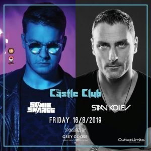 Stan Kolev Sonic Snares The Castle Club 16th August 2019 Tickets